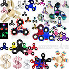 Fidget Spinner Dita LED Tri Spinner EDC Anti-Stress ADHS Concentrazione NUOVO