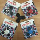 3D Spinfinity Fidget Spinner Finger Spinning Stress Relief Focus Toy Kids/Adults