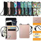 Kyпить RFID Blocking Passport Holder Neck Pouch PU Leather Travel Wallet w/ Card Slots на еВаy.соm