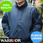 Pro High Quality Fleece Lined Bomber Jacket Work Coat Security Drivers Warehouse
