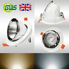 Directional Adjustable Recessed LED Gimbal Light Scoop Retail Store Downlight