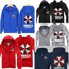 Spring Autumn Resident Evil Guardian umbrella Boys Jacket Sweater  Coat Hoodies