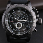 Military Rubber Band Powerful V6 Men's Analog Quartz Wrist Watch Sport Big Face