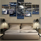 5 Panels Dallas Cowboys Painting Printed Canvas Wall Art Picture Home Décor
