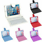Wireless Bluetooth Keyboard Leather Flip Case iPad 2 3 4, Mini 1 2 3 4 Air 2 Pro