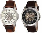 Kyпить Fossil Men's Grant Automatic Skeleton Dial Leather Watch - Multiple Variations на еВаy.соm