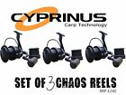 New Cyprinus Black Chaos 65s Big Pit Carp Fishing Reel