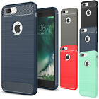 Luxury Shockproof Rubber Soft TPU Phone Case Cover For Apple iPhone 6s 7 8 Plus