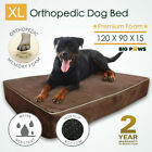 15cm Thick Memory Foam Dog Bed Orthopedic Extra Large Pet Mat Waterproof