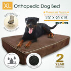 Thick Memory Foam Dog Bed Orthopedic Extra Large Pet Mat Big Paws XL
