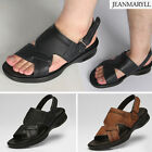 JEANMARYLL Mens Air Cushion Gladiator Sandal Casual Strap Sandle for Men 006