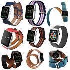 Luxburg® Premium Apple Watch Leather/Nylon/Steel Band Strap for Series 1/2/Sport