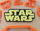 Star Wars Logo Fondant Cutter Set - 3d printed plastic $8.5 USD on eBay