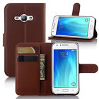 Flip PU Leather Wallet Phone Case Cover For Samsung Galaxy J3 Emerge / J2 Prime
