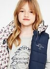 Pepe Jeans Girl Outerwear FLORAL LINING VEST 'JANICE JR'