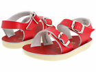 NEW INFANT TODDLER SALT WATER SANDAL SEA WEE 2004 RED SUN-SAN BY HOY SHOES