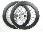 25mm width 80mm clincher carbon wheels,bike wheels alloy brake
