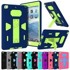Hybrid Heavy Duty Shockproof Kickstand Case Cover For iPad 2 3 4 Mini Air Pro 2