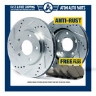 (R) SILVER Slotted Drilled Rotors &Ceramic Pad Mini Cooper/Cooper S From July 06