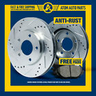 (R)SILVER Slotted Drilled Rotors &Metallic Pad Mini Cooper/Cooper S From July 06