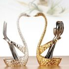 New Spoon Fork+ Cygnus Stand Set Stainless Tableware Combination Cutlery Tools