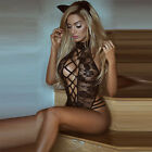 Sexy Women Lace Sleepwear Babydoll Lingerie Nightdress Playsuit Jumpsuit