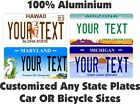 Kyпить Any State Any Text License Plate Personalized Custom Auto Car Bike Bicycle Tag на еВаy.соm