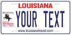 Louisiana 2014 License Plate Personalized Custom Car Bike Motorcycle Moped Tag