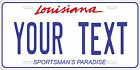 Louisiana 1993 License Plate Personalized Custom Car Bike Motorcycle Moped Tag
