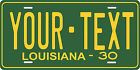 Louisiana 1930 License Plate Personalized Custom Car Bike Motorcycle Moped Tag
