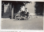 DN958 Photographie Photo vintage Snapshot tandem bicyclette vélo bicycle flou bl