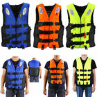 2Pack Polyester Adult Life Jacket Universal Swimming Boating Ski Vest+Whistle