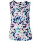 NYDJ 2738 Womens Sleeveless Button Placket Tunic Top Blouse Plus BHFO <br/> BHFO Lowest Price Guarantee!  Retail Price $88.00