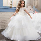 2017 Girl Party Prom Princess Pageant Bridesmaid Wedding Flower Girl Dress