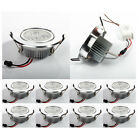 10X 3W CREE LED Recessed Ceiling Down Light Lamp Spotlight + Drivers US Stock