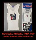 Vtg 90's NOS Evel Knievel Ideal Harley Davidson #1 Motorcycle Tank Top T-shirt $18.77 USD on eBay