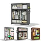 Lockable and Foldable Wardrobe Shelving System Clothes Storage Organizer Closet