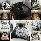 Duvet Cover Sets 3D Animal Print Bedding PillowCases Single Double King Size New