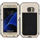 Military Waterproof Metal Gorilla Glass Shockproof Case Cover For Samsung iPhone