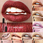 FOCALLURE Waterproof Long Lasting Metallic Lipstick Lip Gloss Liquid Makeup