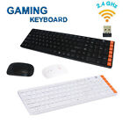 kit pc gamer - Game Wireless 2.4G Keyboard and 1600DPI Mouse Set Kit for PC Multimedia Gamer US