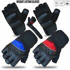 Weight Lifting Gloves Crossfit Workout Gym Fitness Long Wrist Fingerless Gloves