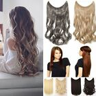 UK Secret Headband Wire in Hair Extensions Hidden Invisible Hairpiece As Human