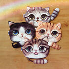 Fashion  Lovely Cat Face Zipper Coin Case Women Pouch Wallet Makeup Purse Bag p