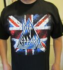 DEF LEPPARD PUNK ROCK BLACK METAL UNISEX SIZES T SHIRT image