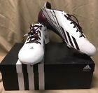 NEW Adidas AS SMU 5-Star 2.0 Low NCAA Football Shoes Texas A&M G98630 White