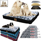 Durable IP65 Pet Soft Bed Dog Cushion Washable Zipper Cover For Large Medium Dog