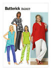 B6069 OOP Butterick Sewing Pattern EASY Plus Tunic Pants 18W-32W