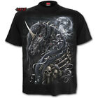 SPIRAL DIRECT DARK UNICORN T-Shirt/Tattoo/Skull/Dark wear/Rock/Metal/Top/Tee