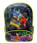 "LEGO BATMAN & ROBIN JOKER 16"" Full-Size Backpack w/ Optional Insulated Lunch Box"